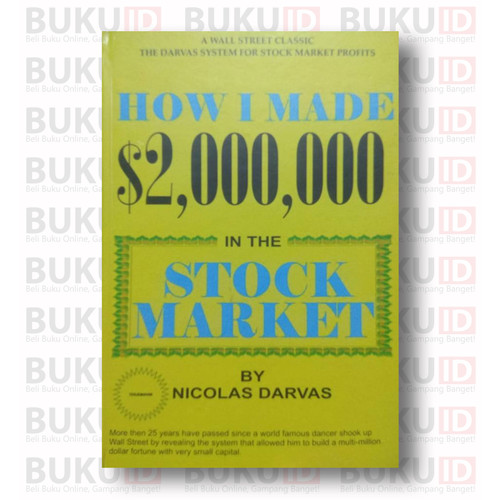 Foto Produk How I Made $2,000,000 In The Stock Market - Nicolas Darvas dari Buku ID