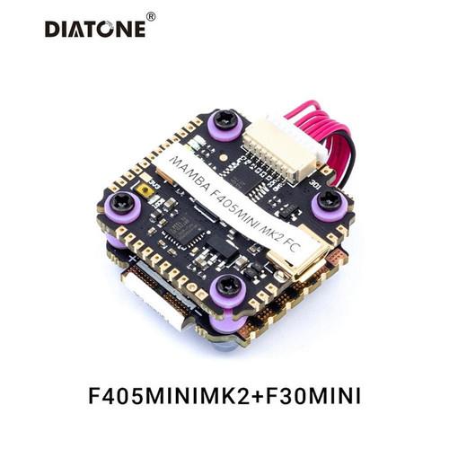 Foto Produk DIATONE Mamba Stack F405 Mini MK2 & F30 20x20 Combo dari DooFPV