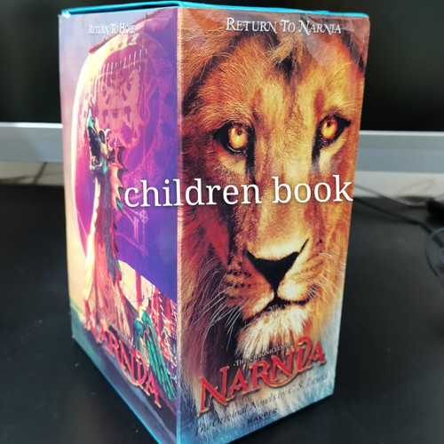 Foto Produk The Chronicles of Narnia 7 buku dari children book