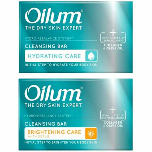 Foto Produk Oilum Sabun Collagen Bar 85 ML Cleansing Bar - Hydrating dari Yogieyo