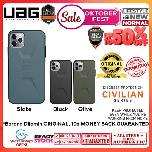 Foto Produk Case iPhone 11 Pro Max / 11 Pro / 11 UAG Civilian Cover (OKTOBERFEST) - Black, 11 dari Spigen Indonesia