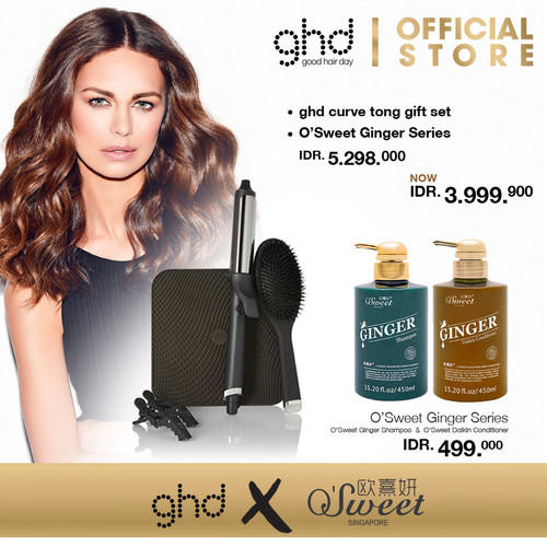 Foto Produk [EXCLUSIVE] ghd Curve Tong Gift Set + O'Sweet Ginger Series dari GHD Official Store