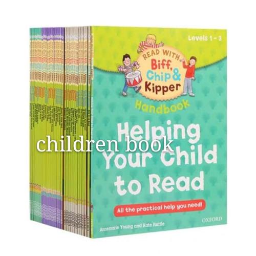 Foto Produk Oxford Helping your child to read Level 1 - 3 Biff Chip & kipper dari children book