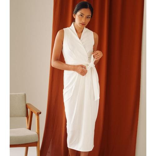 Foto Produk ASHLEY DRESS – WHITE - S dari At Vezzo