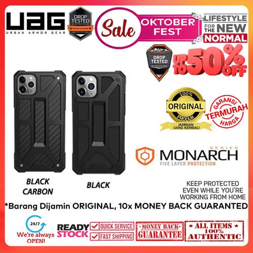 Foto Produk Case iPhone 11 Pro Max / 11 Pro / 11 UAG Monarch Cover (OKTOBERFEST) - Black Carbon, iPhone 11 dari Spigen Indonesia