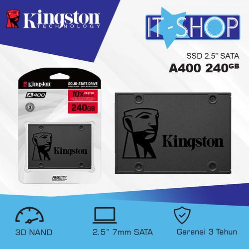 Foto Produk Kingston SSD A400 240GB dari IT-SHOP-ONLINE