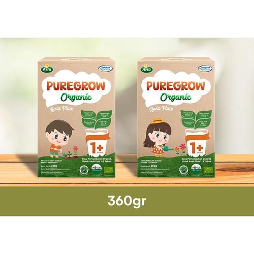 Foto Produk Arla Puregrow Organic Plain 360gr 1-3 thn - Girl dari Yen's Baby & Kid Official Shop