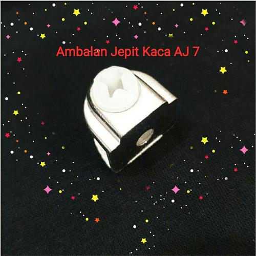 Foto Produk [Min 100pcs] Ambalan Jepit Kaca Skrup AJ7 / AJ 7 sprti huben dari BnB Jaya