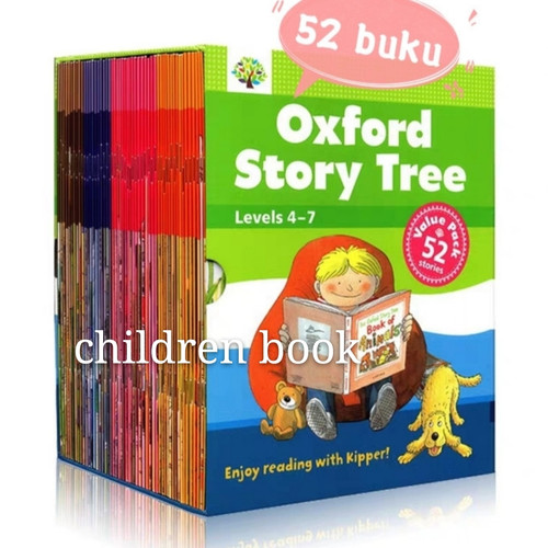 Foto Produk Oxford Story Tree 52 books Levels 4-7 dari children book