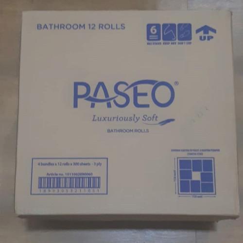 Foto Produk 1 Dus - Tissue PASEO TOILET 12 ROLL - Kuat dan Lembut di Kulit Anda dari Packing Packing