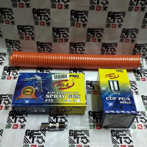 Foto Produk Paket Spraygun F75G/ Paket Cat Spray F75G dari GudangPowerTools