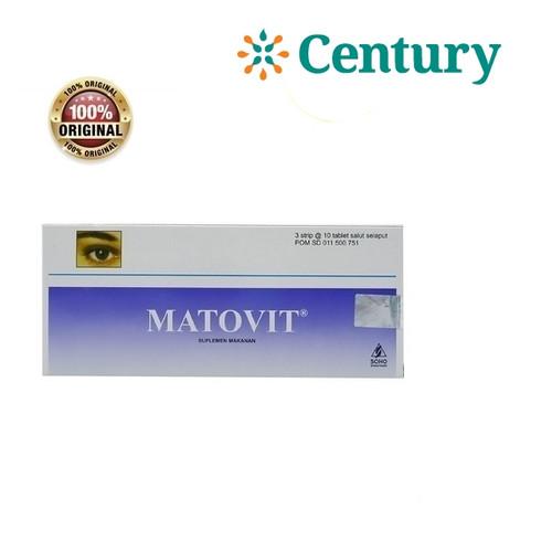 Foto Produk Matovit 10 Tablet / Suplemen Mata / Vitamin Mata dari CENTURY HEALTHCARE