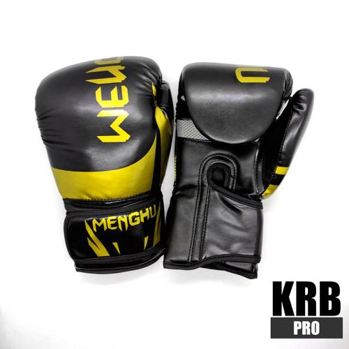 Foto Produk Boxing Gloves / Sarung Tinju - Black Gold dari KRB Pro