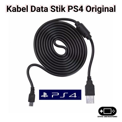 Foto Produk Kabel Charger Stik PS4 Ori Cable Data USB Controller PS4 OIVO Original dari Dimas Retro Game