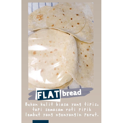 Foto Produk [1 Pack / 10 Pcs] - Tortilla Bread | Roti Tortilla | Home made dari Omid Health Style 3