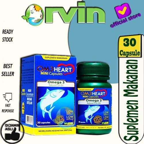 Foto Produk Omeheart Omega 3 30`S / Suplemen Makanan Untuk Jantung / Minyak Ikan dari Orvin Health & Beauty