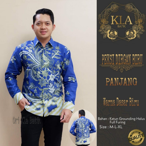 Foto Produk kemeja batik pria lengan panjang mukti dana dari Jivan Batik