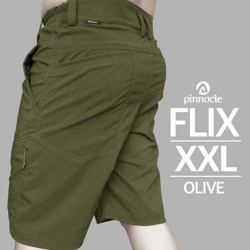 Foto Produk Pinnacle FLIX Short Olive XXL , Celana Pinnacle dari Pinnacle Pro