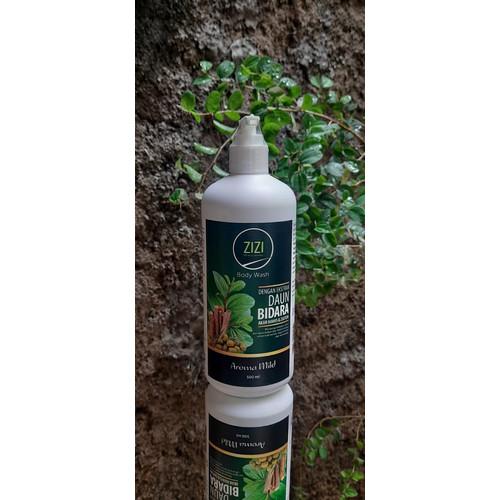 Foto Produk ZiZi Body Wash / Sabun Bidara / Ekstrak Daun Bidara / AromaMild 500ml dari Teras Roka