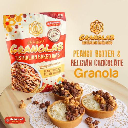Foto Produk Granolab Muesli Peanut Butter & Belgian Chocolate Australian Baked Oat dari Yen's Baby & Kid Official Shop