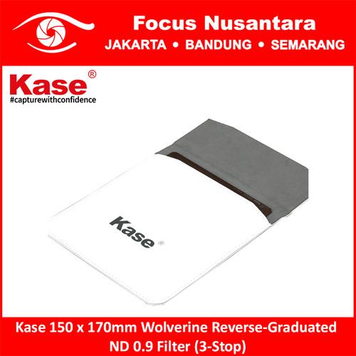 Foto Produk Kase 150 x 170mm Wolverine Reverse-Graduated ND 0.9 Filter (3-Stop) dari Focus Nusantara