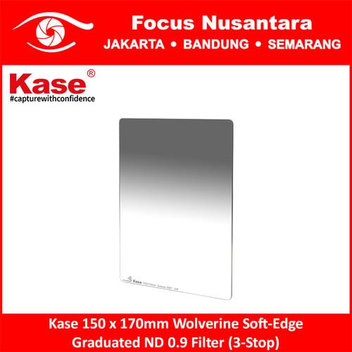 Foto Produk Kase 150 x 170mm Wolverine Soft-Edge Graduated ND 0.9 Filter (3-Stop) dari Focus Nusantara