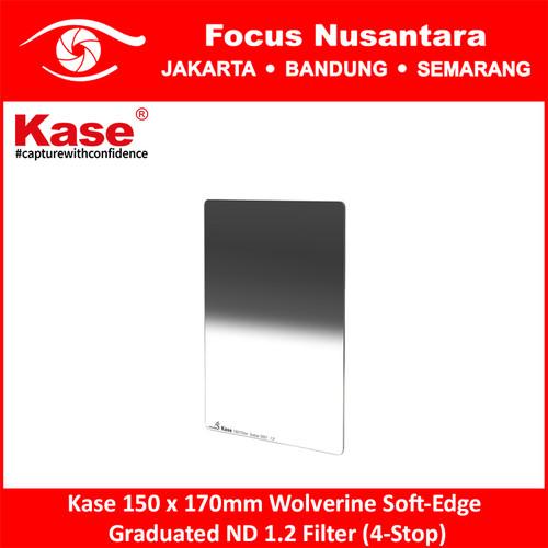 Foto Produk Kase 150 x 170mm Wolverine Soft-Edge Graduated ND 1.2 Filter (4-Stop) dari Focus Nusantara