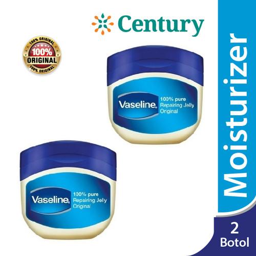 Foto Produk (Isi 2 Pcs) Vaseline Repairing Petroleum Jelly 50ml / Pelembab / Kulit dari CENTURY HEALTHCARE