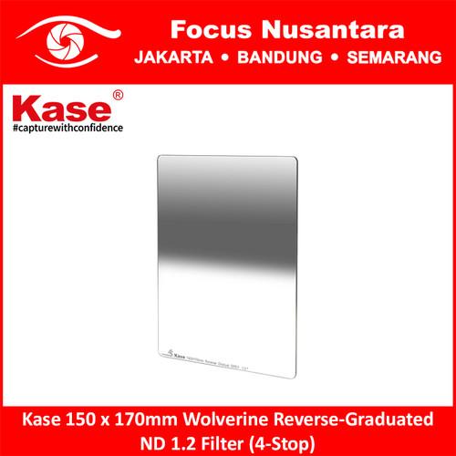 Foto Produk Kase 150 x 170mm Wolverine Reverse-Graduated ND 1.2 Filter (4-Stop) dari Focus Nusantara