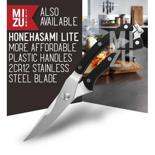 Foto Produk MIZU HONEHASAMI Meat Bone Scissors Gunting Dapur Potong Tulang Daging - HONE LITE dari MIZU Living