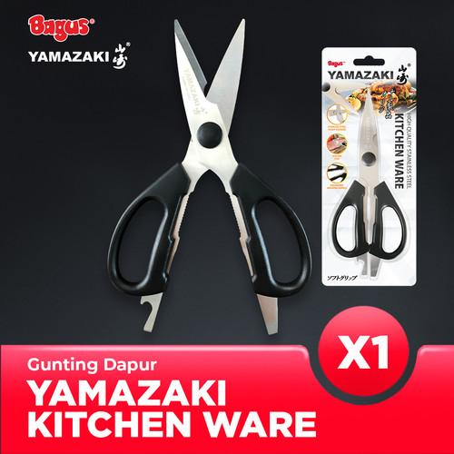 Foto Produk Bagus Yamazaki Kitchenware - Gunting Dapur Stainless Steel dari Bagus Official Store