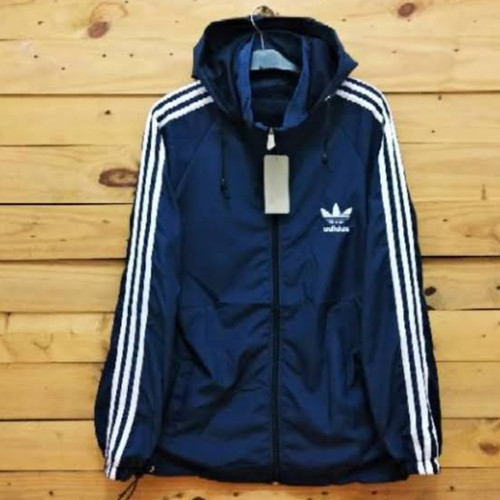 Foto Produk Jaket Parasut Adidas Nike Sport Olahraga Pria Wanita - navy, M dari Easy Cloth Shop