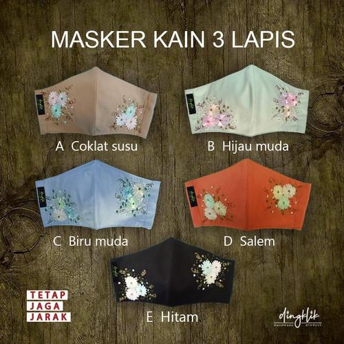 Foto Produk masker cantik sulam dari Dingklik collection