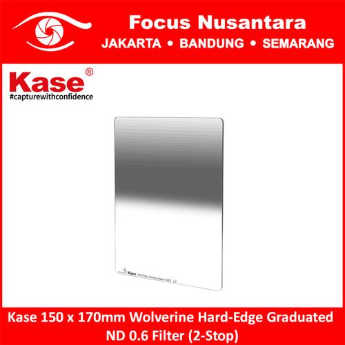 Foto Produk Kase 150 x 170mm Wolverine Hard-Edge Graduated ND 0.6 Filter (2-Stop) dari Focus Nusantara