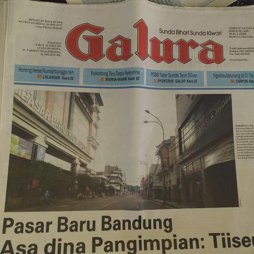 Foto Produk Koran Galura. Koran bahasa sunda dari galerimuymugy