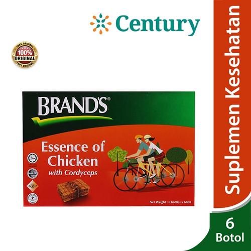 Foto Produk Brand's Essence of Chicken with Cordyceps 6x70gr / Minuman Kesehatan dari CENTURY HEALTHCARE