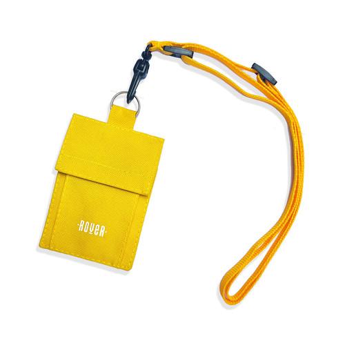 Foto Produk Kibo Lanyard Wallet (Dompet Kalung) - Kuning dari roversupply