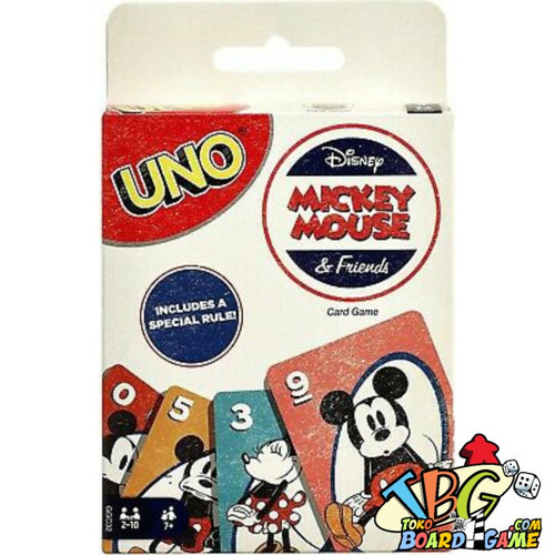 Foto Produk Paket Uno Disney Mickey ( Original ) + Card Protector - Board Games dari Toko Board Game