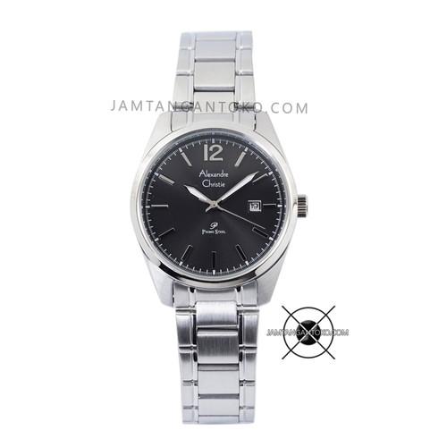 Foto Produk Jam Wanita Alexandre Christie Primo AC 1012 LD Rantai Silver Black dari Jam Tangan Toko