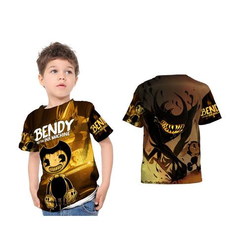 Foto Produk Kaos Baju Tshirt Anak Bendi Bendy and the Ink Machine Art 1 Fullprint - S dari HDCustom