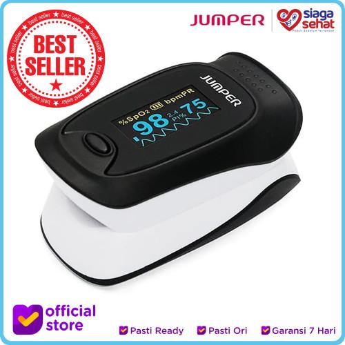 Foto Produk Jumper - Fingertip Pulse Oximeter 500D (Oximeter/alat kesehatan) dari Siaga Sehat
