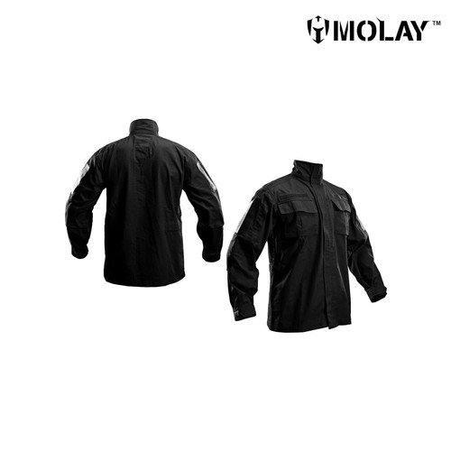 Foto Produk Kemeja Pria Molay™ Peacekeeping Uniform Blouse - BLACK, S dari Molay