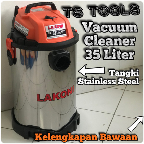 Foto Produk Lakoni vortex 35 Vacuum Cleaner Wet & Dry 35 Liter Vortex 35 BWD dari TS Tools