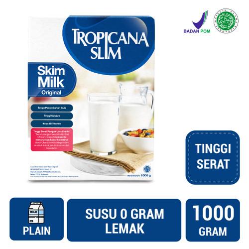 Foto Produk Tropicana Slim Non Fat Skim Milk Plain 1kg dari NutriMart