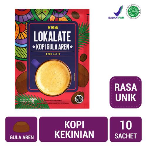 Foto Produk W'Dank Lokalate Kopi Gula Aren (10 Sch) dari NutriMart