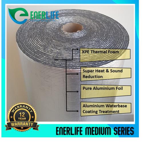 Foto Produk Peredam Panas Atap - Aluminium Foil Atap 4mm Double EnerLife M-4A2 dari Energy Life Indonesia