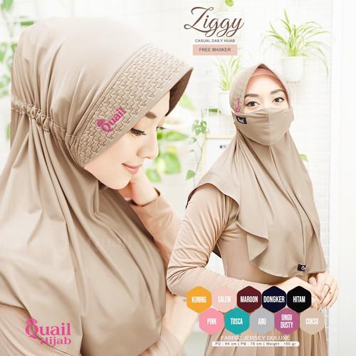 Foto Produk Hijab Ziggy Casual Daily Hijab Quail Hijab dari griyahawa_quailhijab