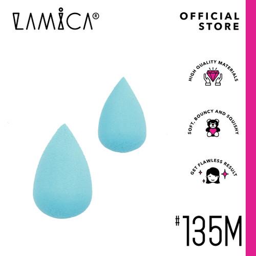 Foto Produk LAMICA BEAUTY SPONGE - MINI (2PCS) (TURQUOISE) dari LAMICA Beauty