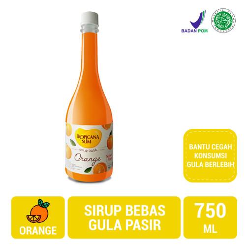 Foto Produk Tropicana Slim Sirup Orange 750ml (Jabodetabek Only) - Sugar FREE dari NutriMart