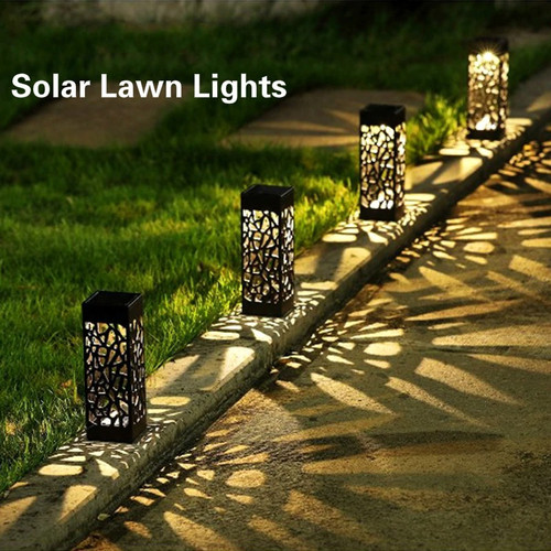 Foto Produk Lampu Taman Tancap LED Solar Dekorasi Aesthetic Sensor Cahaya Outdoor dari futureshopid